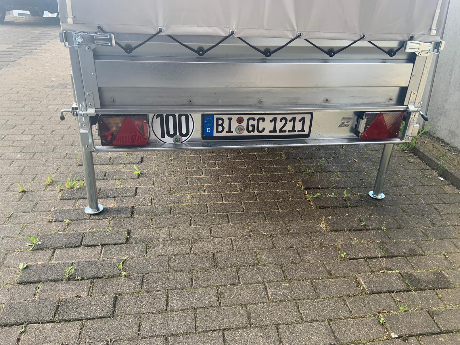 Anhänger 750kg 3m ungebremst mieten in Bielefeld
